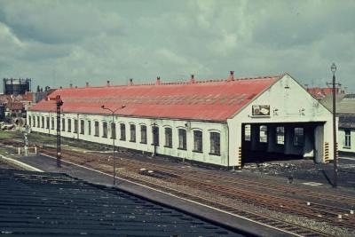 Spoorlijn 59 Locomotiefloods Sint- Niklaas