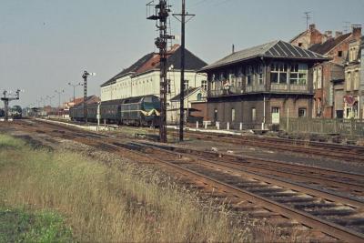 Spoorlijn 59 Vertrek dieseltrein