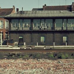 Spoorlijn 59 Seinhuis Kleine Laan