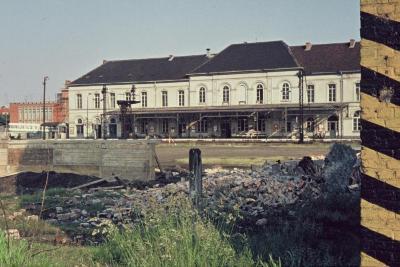 Spoorlijn 59 Station Sint- Niklaas spoorzijde 1968