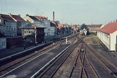 Spoorlijn 59 Spooremplacement Sint- Niklaas 1968