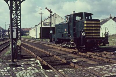 Spoorlijn 59 Rangeerlocomotief type 260