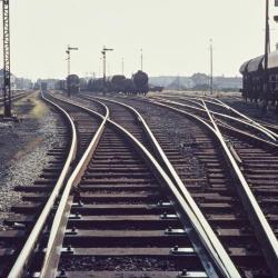 Spoorlijn 59 Sporencomplex Sint- Niklaas 1968