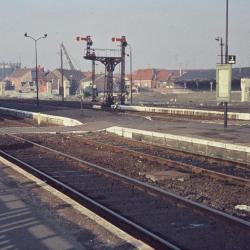 Spoorlijn 59 Afbraak locomotiefloodsen Sint- Niklaas