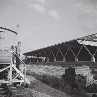 Spoorlijn 59 Bouw nieuw goederenstation