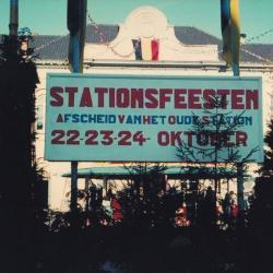 Spoorlijn 59 Afscheidsfeest oud station Sint- Niklaas
