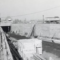 Spoorlijn 59 Bouw tunnel Grote Heymelinckstraat Sint- Niklaas