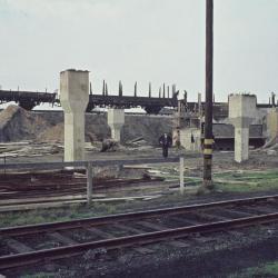 Spoorlijn 59 Ophogingswerken spoorberm