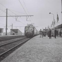 Spoorlijn 59 Inhuldigingstrein Antwerpen- Sint- Niklaas- Gent