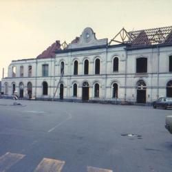 Spoorlijn 59 Afbraak oud station Sint- Niklaas