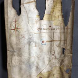 Uittreksel uit ongekend kaartboek van Haasdonk