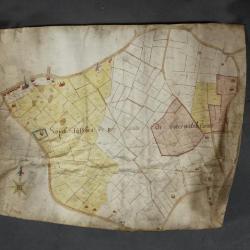 Uittreksel uit een ongekend kaartboek van Haasdonk
