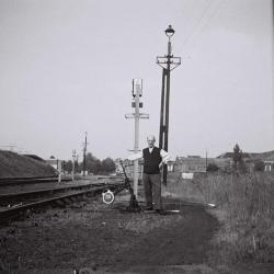 Spoorlijn 59 Station Lokeren, aftakking spoorlijn 57 naar Dendermonde