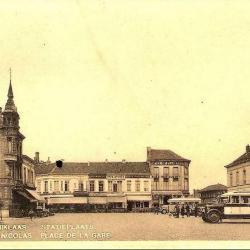 Prentkaart Spoorlijn 59 station Sint- Niklaas 1930