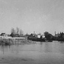 Spoorlijn 56 Spoorwegbrug in Hamme