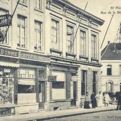 Prentkaart Spoorlijn 59 station Sint- Niklaas 1907