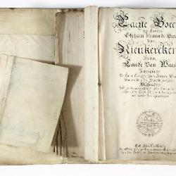 Kaartboek Nieuwkerken, met wijkkaarten, 1726