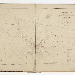 Kadastrale atlas Belsele, 1856