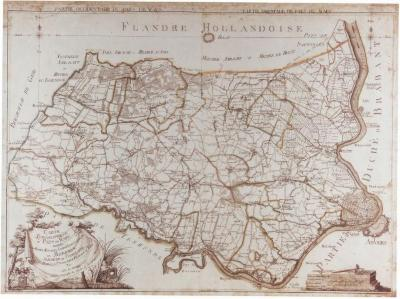 J.B. de Bouge, Carte Topographique du Pays de Waes