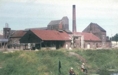 Suikerfabriek aan de Melkaderbrug - gesloopt in 1972