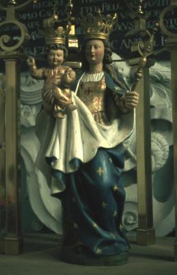 Mariabeeld in de Sint-Petrus-en-Pauluskerk te Kallo