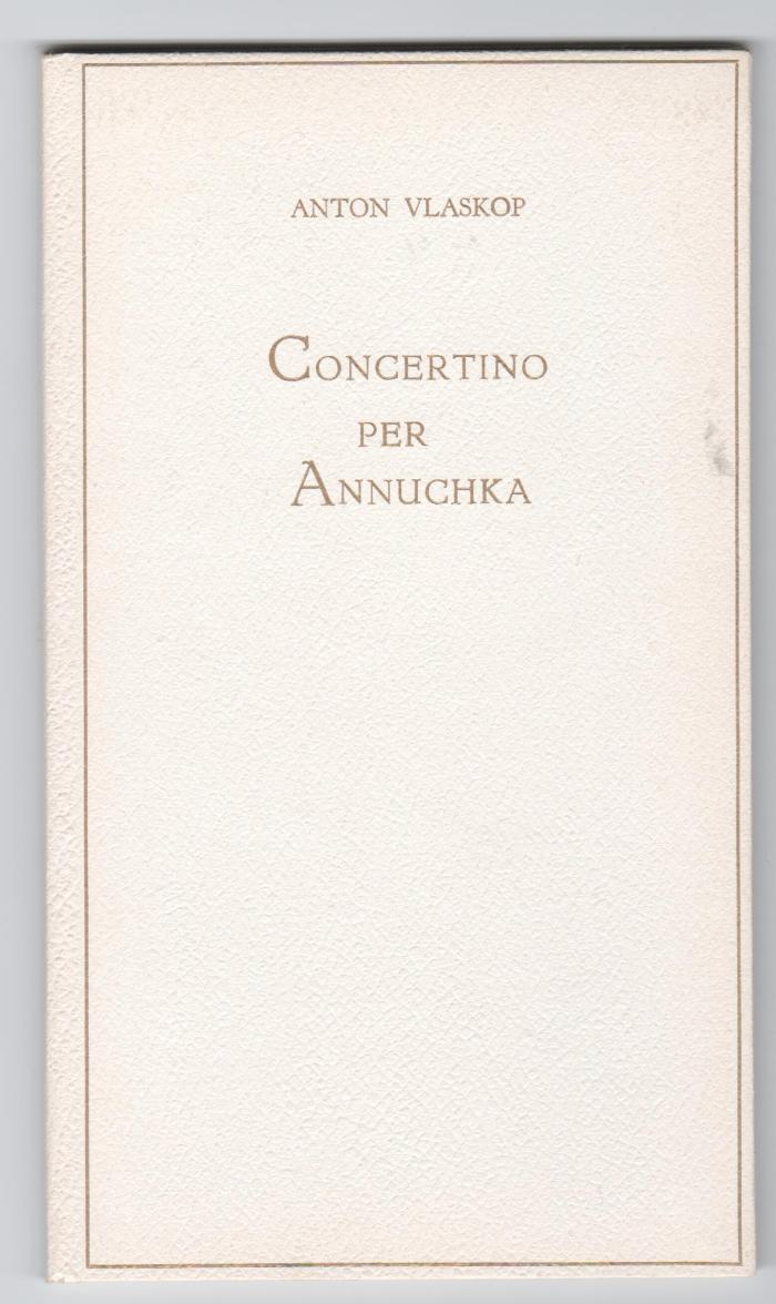 Concertino Per Annuchka