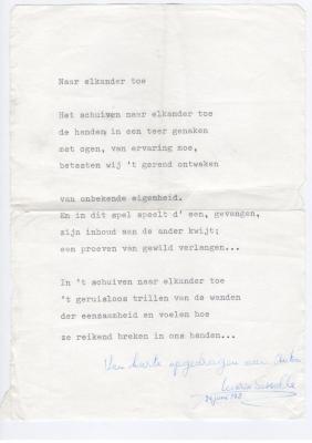 Anton Vlaskops contacten met Maria Sesselle