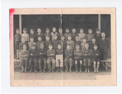 Anton Vlaskop in het 5e jaar Ecole Moyenne - Middelbare School