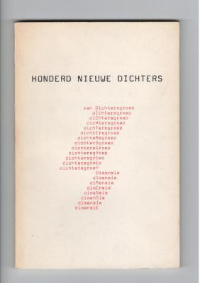 Anton Vlaskop in HONDERD NIEUWE DICHTERS deel 1 - 1976