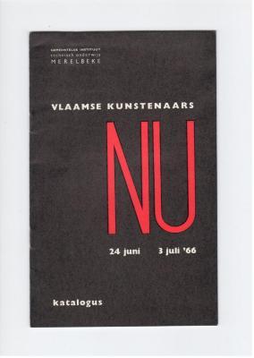 Vlaams Kunstenaars Nu 24 juni - 3 juli 1966: Anton Vlaskop