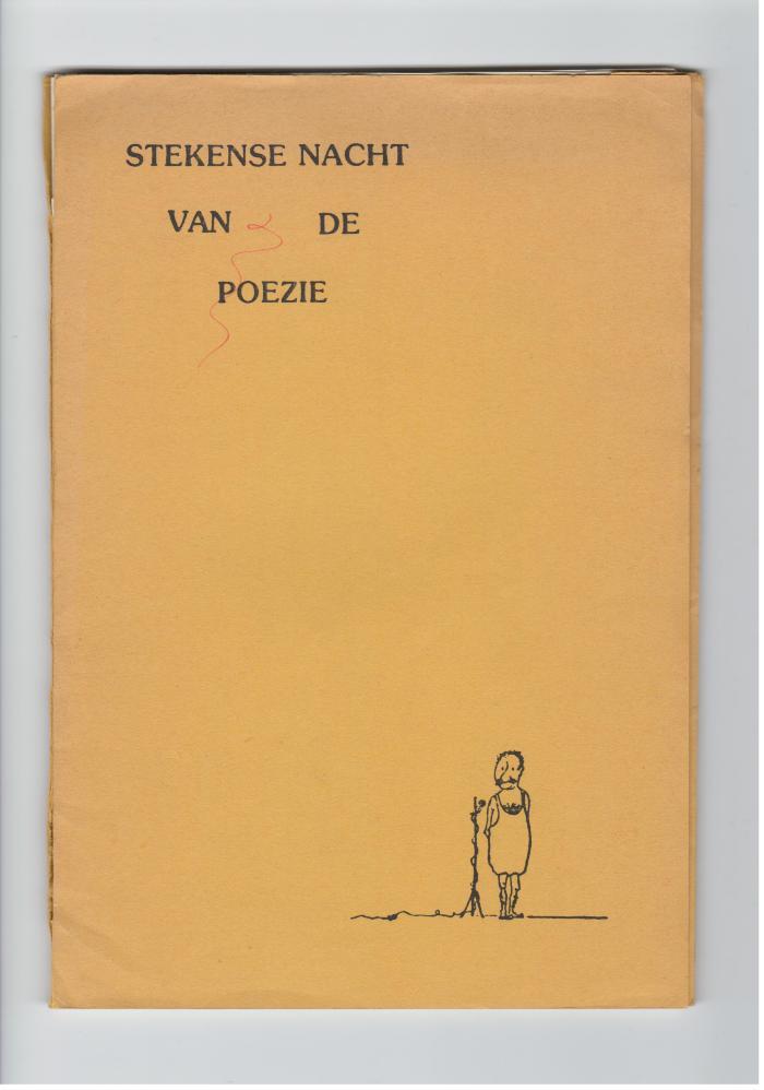 Stekense nacht van de poëzie en Anton Vlaskop