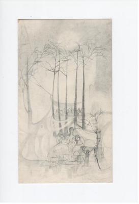 Wit Verdriet door Anton Vlaskop met illustratie van Sonja Rosalia Bauters