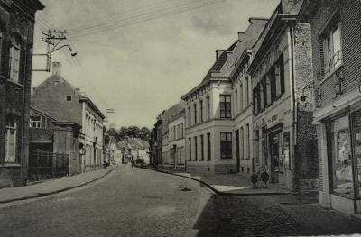 Postkaart Kerkstraat Waasmunster