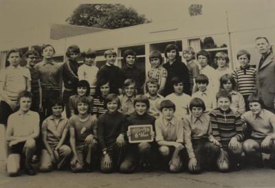 Klasfoto Gemeenteschool Waasmunster 1973-1974