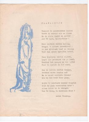 Anton Vlaskop schreef in 1962 een paasliedje