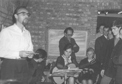 Anton Vlaskop werkte samen met Yvonne Azaert en Herman Verbruggen