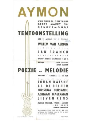 Anton Vlaskop organiseerde tentoonstelling te Dendermonde: Aymon
