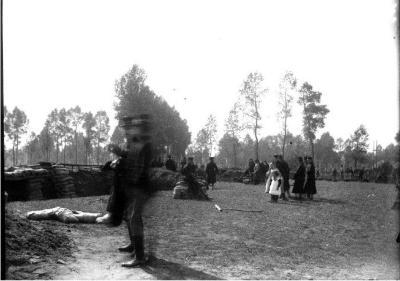 Soldaten oefeningen (7): bezoek kinderen