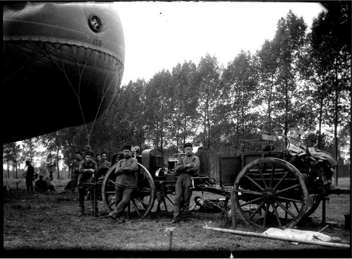 Soldaten oefeningen (5): kar + luchtballon