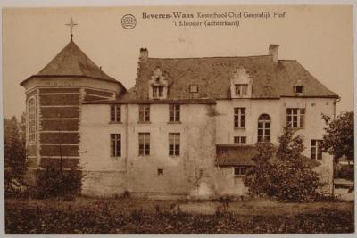 Beveren, klooster Oud Geestelijk Hof
