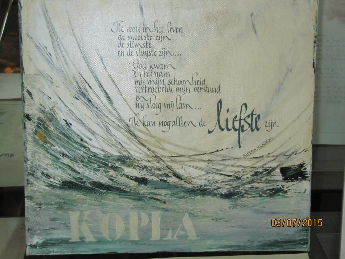 Poëzie en kalligrafie