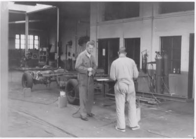 Opbouw praalstoet 1967