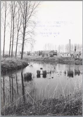 Vlasloodsen, grens Nederland-Stekene