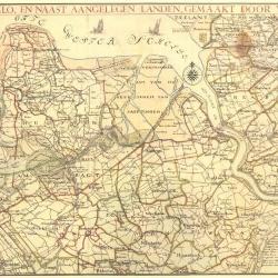 W.T. Hattinga, de Schelde bij Lillo en naast aangelegen landen