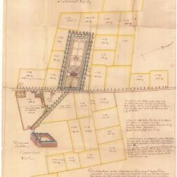 Wijkkaart van wijken Kloosterland en Beenaert
