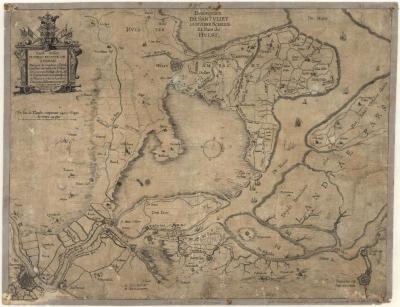 Description de Santvliet, la Rivière Schelde et Pais de Hulst