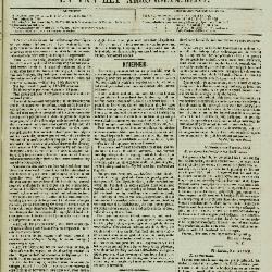 Gazet van Sint-Nicolaes 13/03/1853